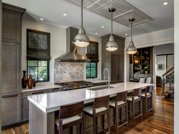 Modern kitchen in Southestern Michigan